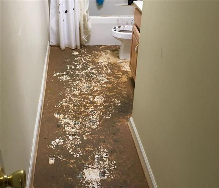 Sewage Damage in Macon, GA Before