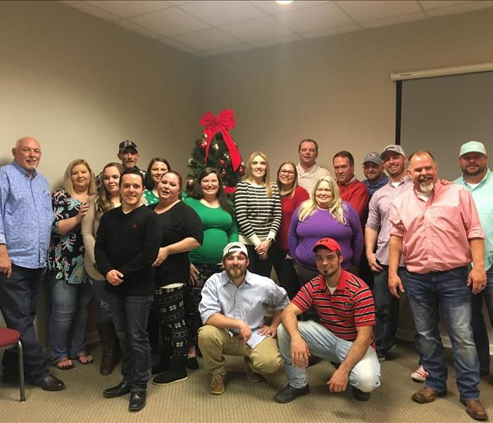 SERVPRO of Macon employee group photo